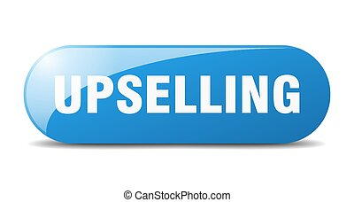 upselling button. sticker. banner. rounded glass sign