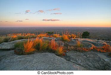 Upstate South Carolina Fall Foliage Lake Jocassee Sunset...