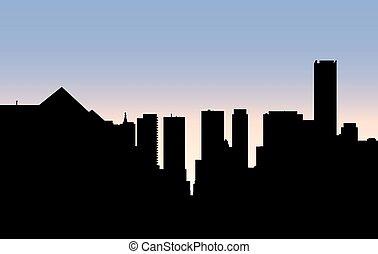 Uptown Toronto Skyline