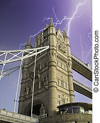 uralkodik bridzs, alatt, london