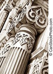 uralt, architektonische details