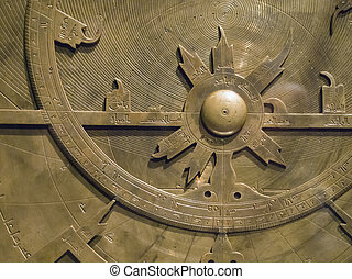 uralt, astronomisch, instrument