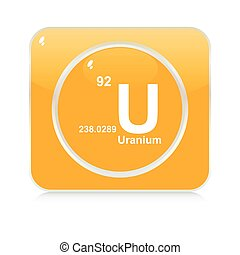 uranium button