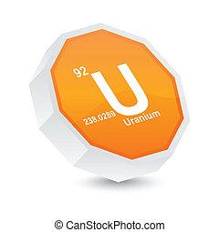 uranium button