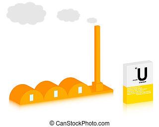 uranium factory
