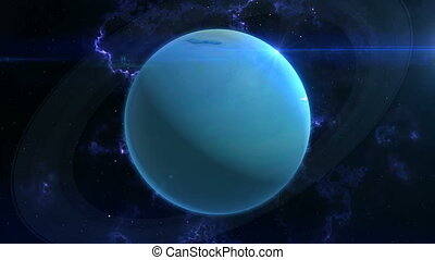 Uranus Reveal in Space - This epic clip of a planet is part...