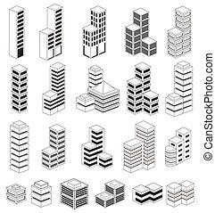 urbain, bâtiments