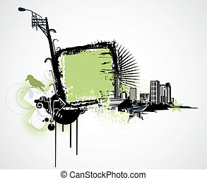 urbain, fond