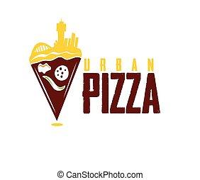 urbain, pizza
