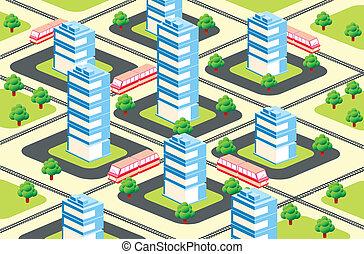 urbain, secteur