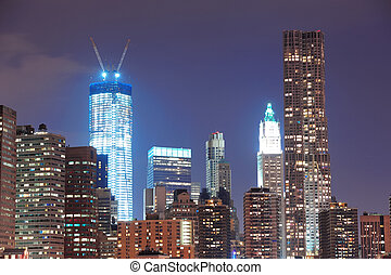 urban égvonal, város