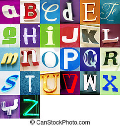 Urban Alphabet - Write messages with this letters! i got...