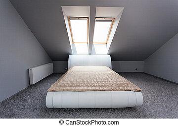 Urban apartment - attic bedroom