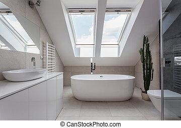 Urban apartment - bathroom - Urban apartment - white ...
