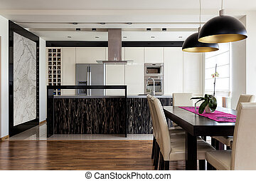 Urban apartment - Kitchen with table