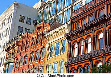 Urban architecture, Washington DC.