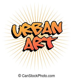 Urban art and graffiti design