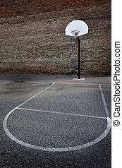 Urban Basketball Street Ball Outdoors
