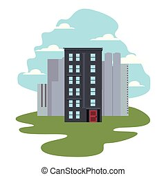 urban buildings city