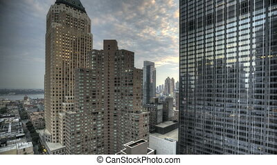 Urban Canyon HDR Timelapse - HDR Timelapse Urban Canyon New...