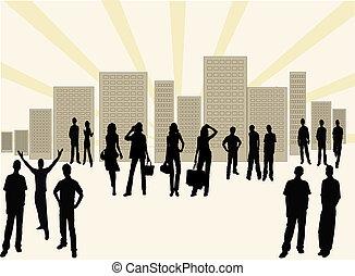 Urban city life  - Urban city life