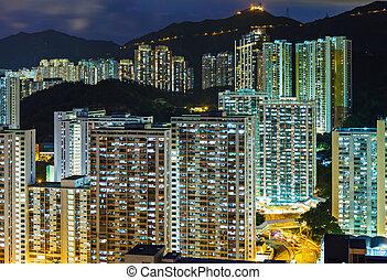 Urban Cityscape in Hong Kong