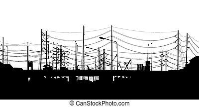Urban foreground