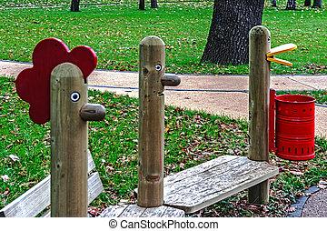 Urban furniture for children 9
