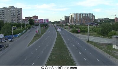 Urban highway (timelapse)