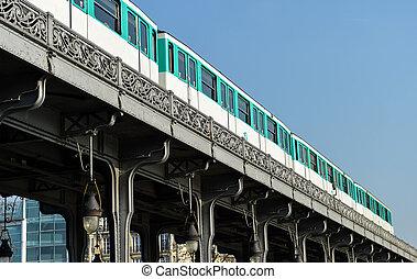 Urban Life-Paris Metro