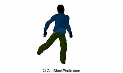 Urban Male Dancing