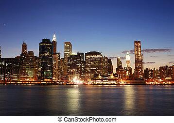 Urban Manhattan, New York City