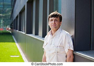 Urban mid-aged guy