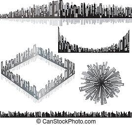 Urban panoramas