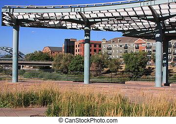 Urban Park Pavilion Structure
