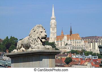 Urban scenic in Budapest