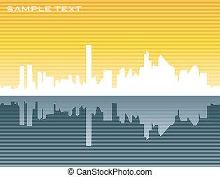 Urban silhouette concept