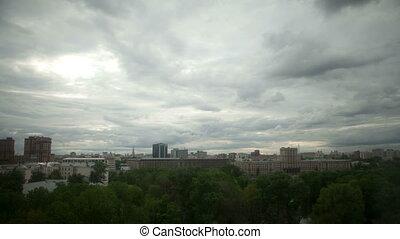 Urban sky Time Lapse