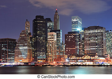 urban, skyline city