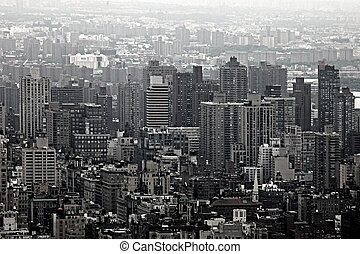 Urban Skyscrapers of New York City Skyline
