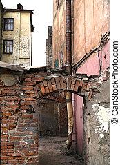 Urban slums - Inhabited u