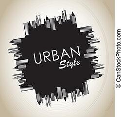 urban, stil