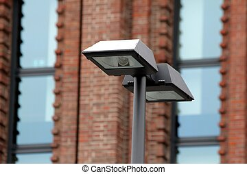 urban street lamp