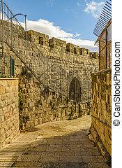 Urban Street, Old Jerusalem City