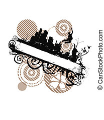 urban style - place your text or design here (made from my...