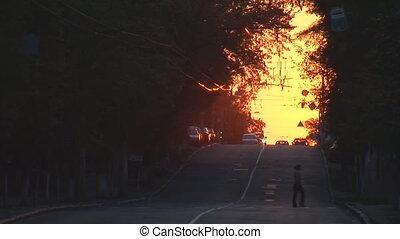 urban sunset 2