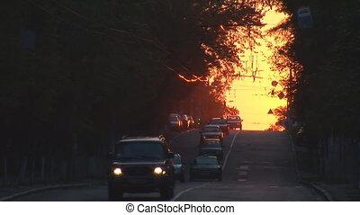 urban sunset 3