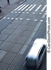 urban traffic concept