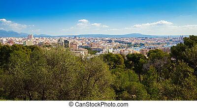 urban view of Palma de Mallorca
