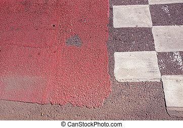 urbano, asfalto, fondo